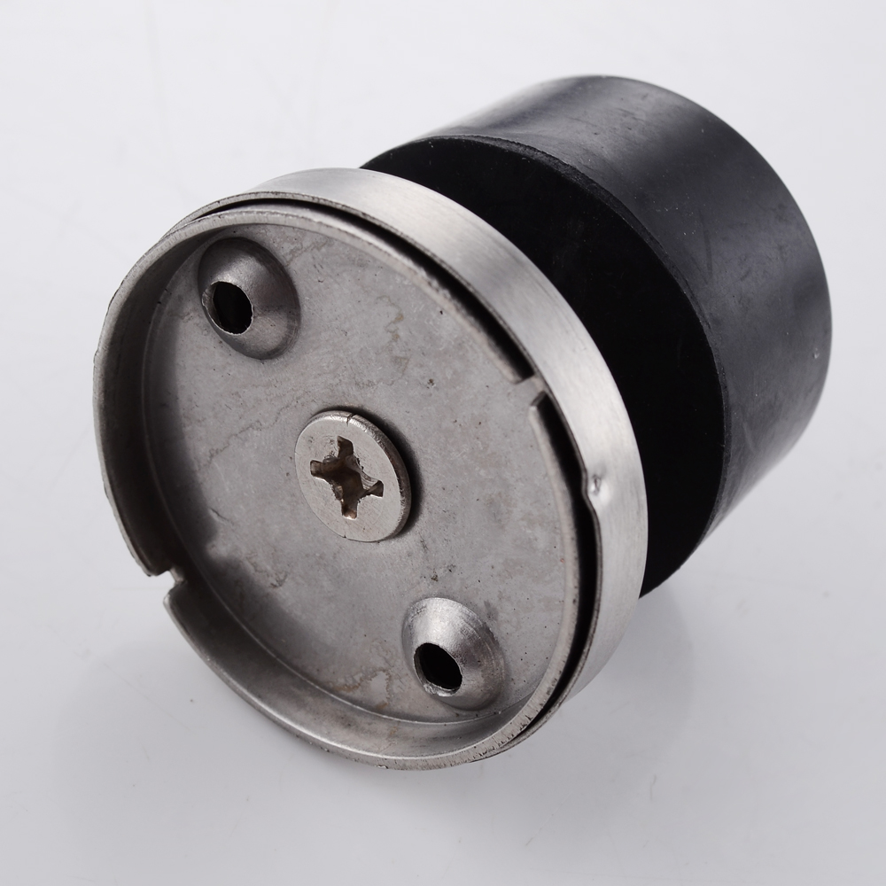kes sus 304 stainless steel safety door stop metal door holder doorstop with sound dampening rubber bumper heavy duty