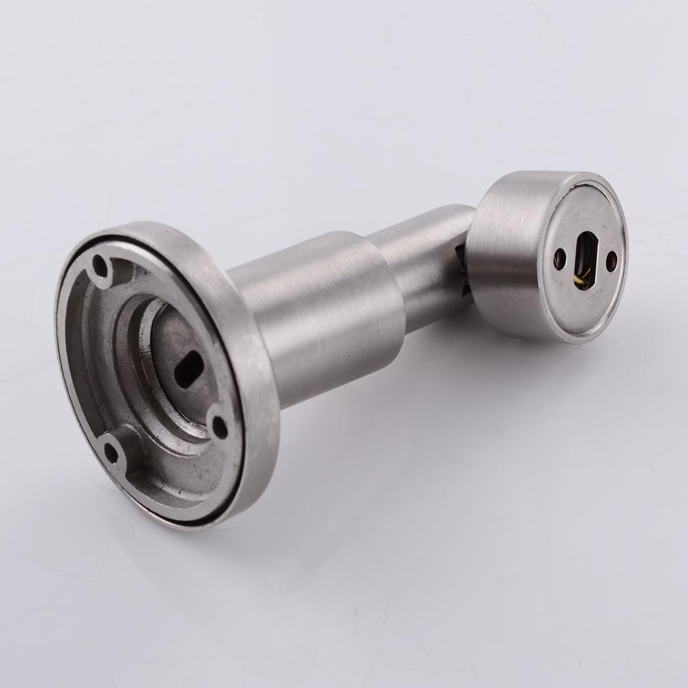 KES SUS 304 Stainless Steel Magnetic Door Stop Height Adjustable 85 98 MM  Door Catch Metal ...