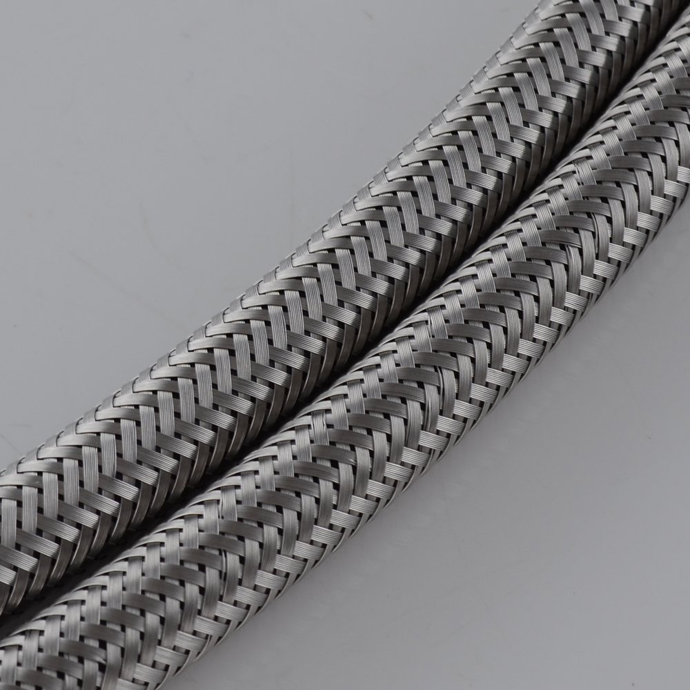 Kes ius p faucet connector braided stainless steel