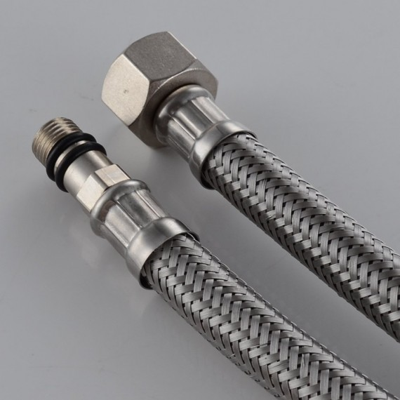 Kes Ius1024 P2 Faucet Connector Braided Stainless Steel