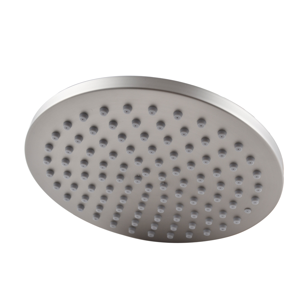 KES All Stainless Steel 8 Inch Extra Big Rainfall Shower Head Replacement  Part For Bathroom Shower ...