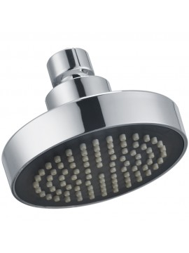 KES J335 Showering Replacement 4-Inch Shower Head Fixed Mount, Polished Chrome