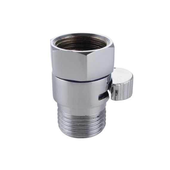 KES Shower Head Shut-Off Valve Ball Valve 1/2-Inch NPT BRASS Polished Chrome, KUS1140B