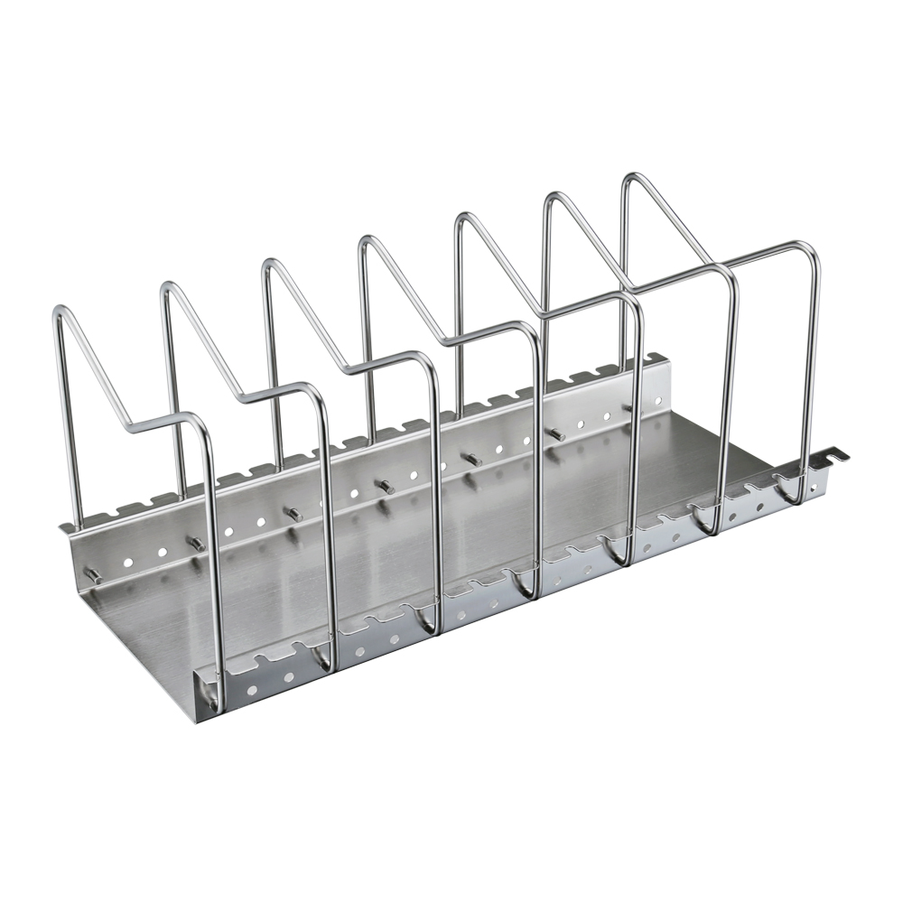 KES Stainless Steel Dish Rack Kitchen Pot Pan Lid Cutting Board ...