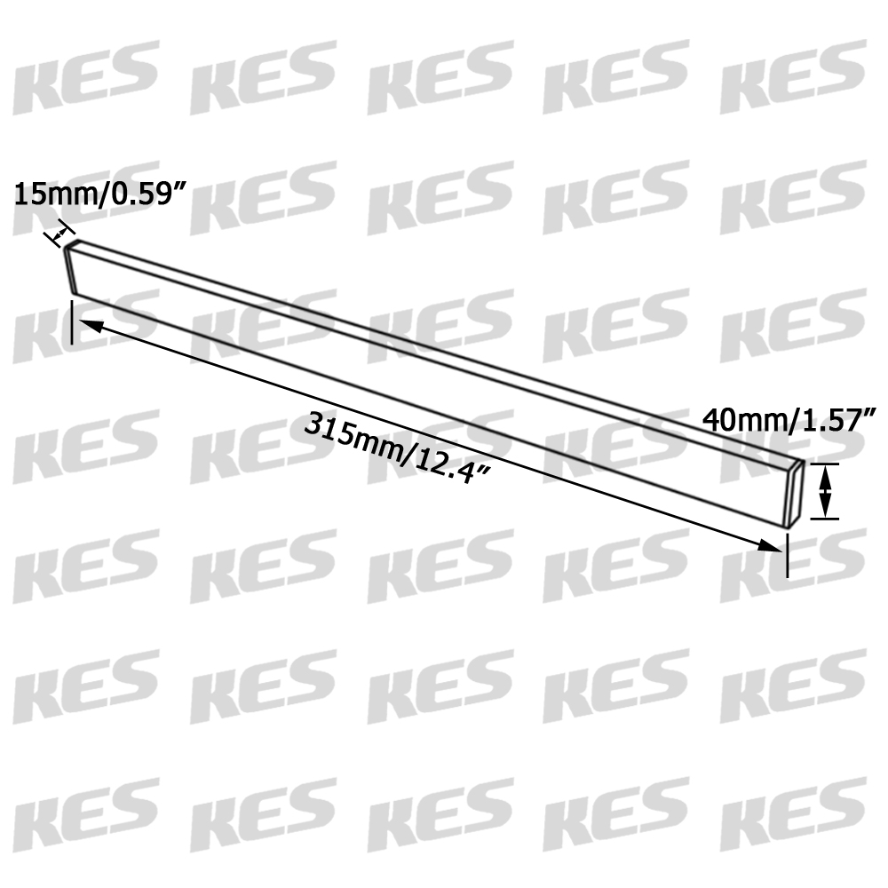 KES SUS304 Stainless Steel Magnetic Knife Rack 12 Inch 3M Self Adhesive Kitchen  Utensil Rail, Brushed Finish, ...