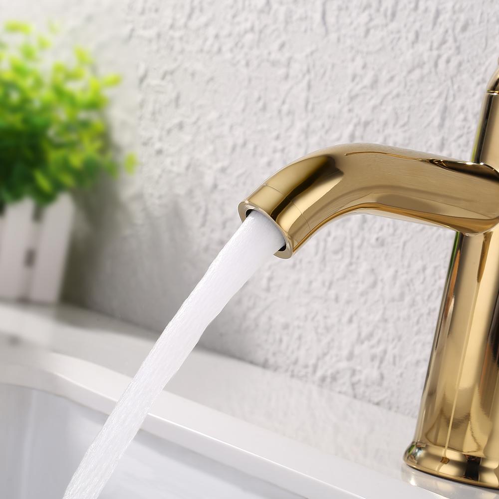 KES Modern Bathroom Sink Faucet Single Handle Wash Basin Faucet ...