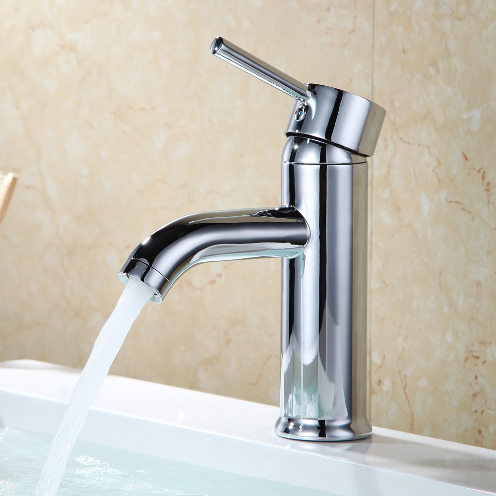 Kes Modern Bathroom Sink Faucet Single Handle Wash Basin Faucet Lavatory Tap Lead Free Brass