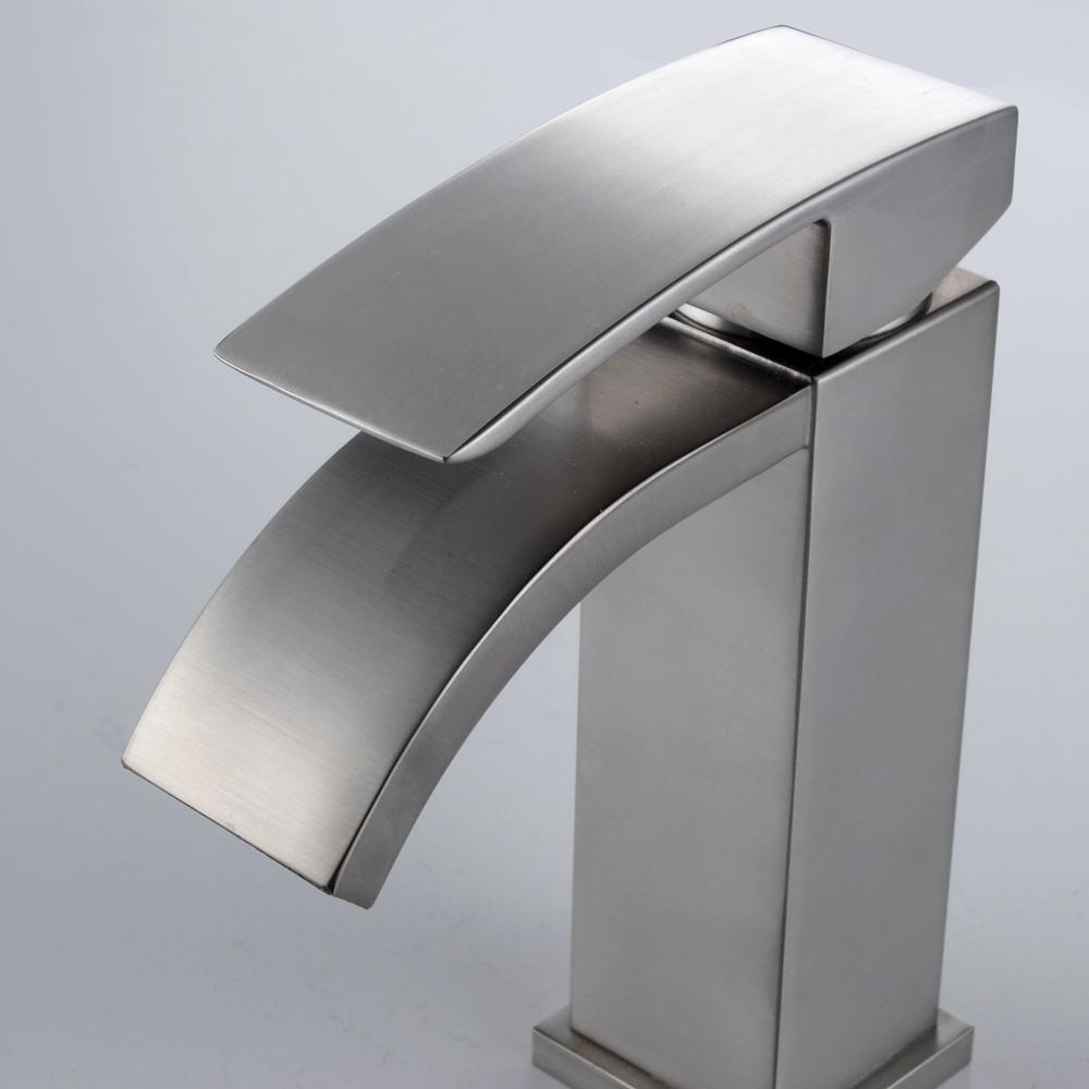 L3109A1LF-2 Single Handle Waterfall Bathroom Vanity Sink Faucet ...