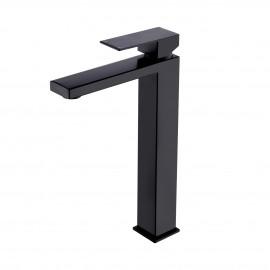 Bathroom Vessel sink Faucet with Single Handle type & Single hole, Black L3156BLF-BK