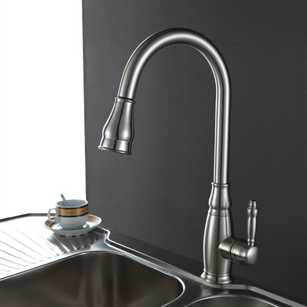 Brass Kitchen Faucet Pull Down Tall Kitchen Faucet Quality Kitchen Sinks Befon For Pull Down