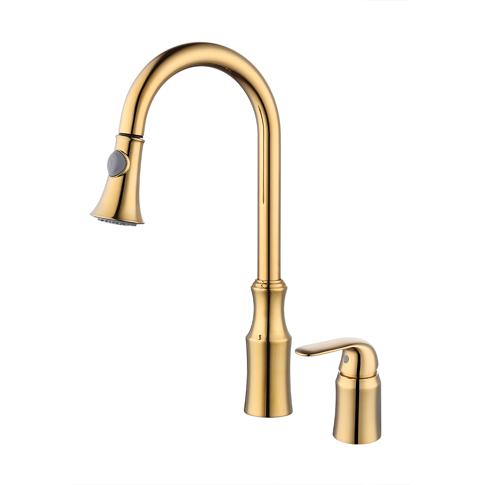 KES Kitchen Faucet, Kitchen Sink Faucet Pull Down with 2 Funtion ...