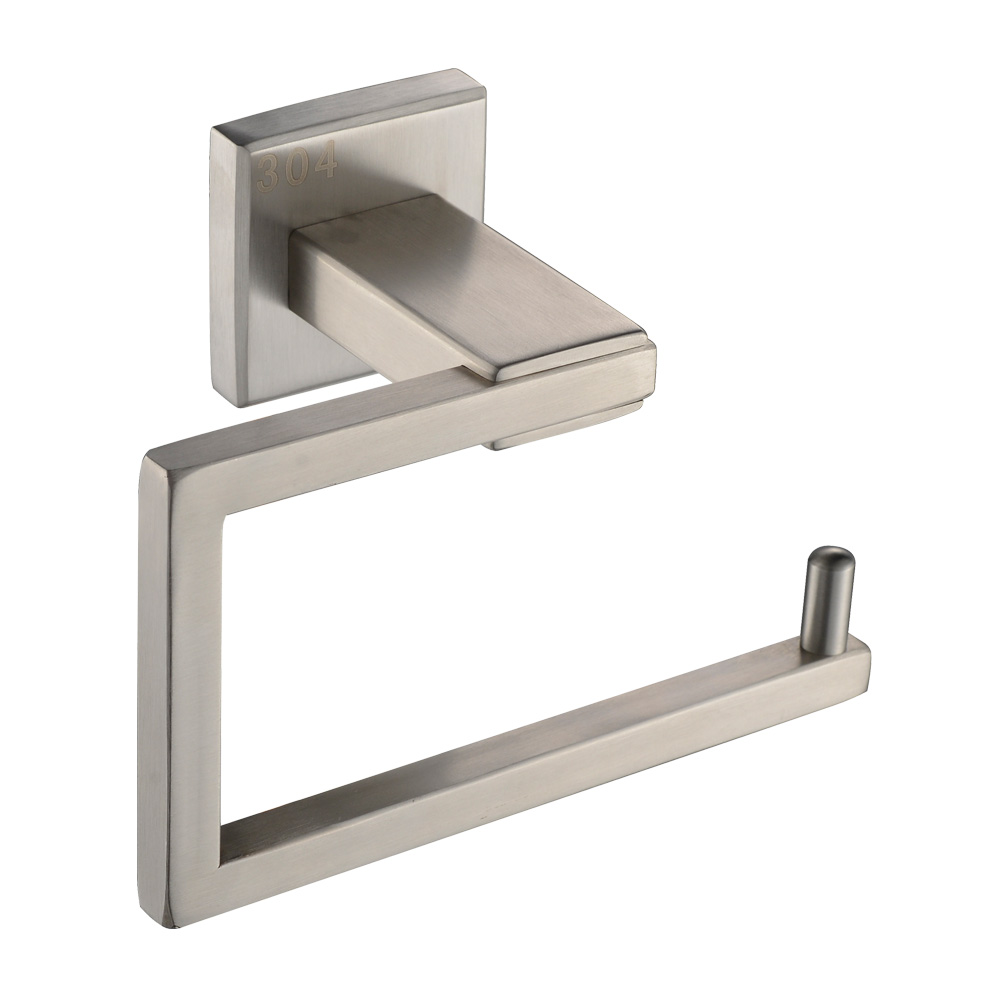 Kes bathroom accessories toilet tissue holder towel ring sus304 stainless steel wall mount - Tissue holder bathroom ...