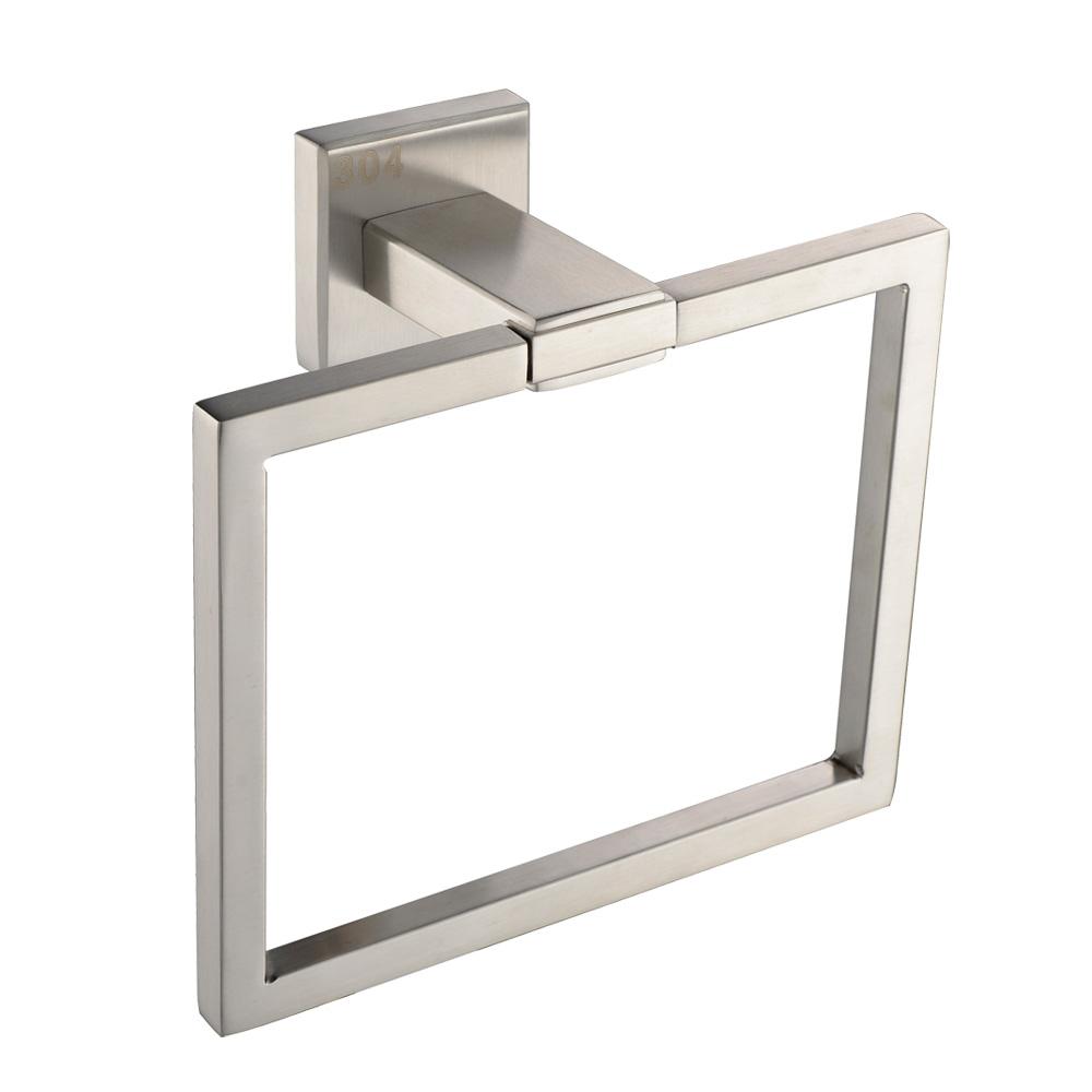 KES Bathroom Accessories Toilet Tissue Holder/Towel Ring SUS304 ...