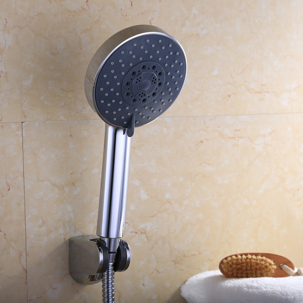 LP501B Bathroom FIVE Function Handheld Shower Head with Extra Long ...