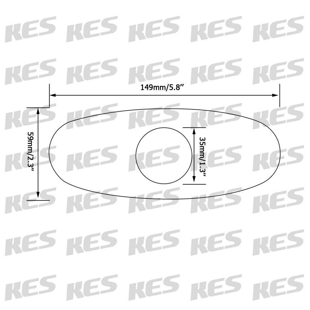 kes 6inch sink faucet hole cover deck plate escutcheon for bathroom or kitchen single hole mixer