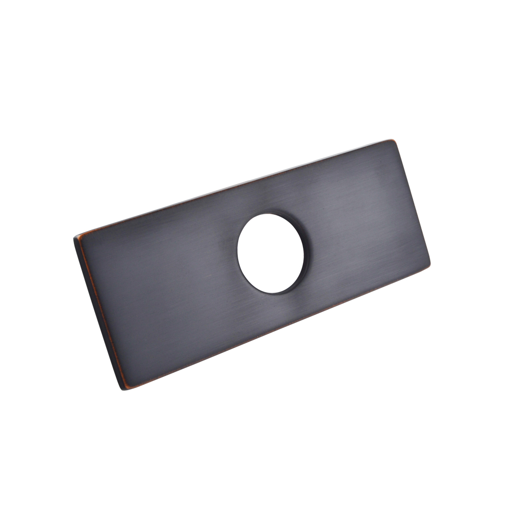 Kes 6 inch sink faucet hole cover deck plate square escutcheon for kes 6 inch sink faucet hole cover deck plate square escutcheon for bathroom or kitchen single workwithnaturefo