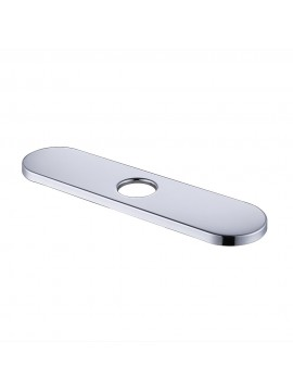 KES 10-Inch Kitchen Sink Faucet Hole Cover Deck Plate Escutcheon, Polished Finish, PEP3S26