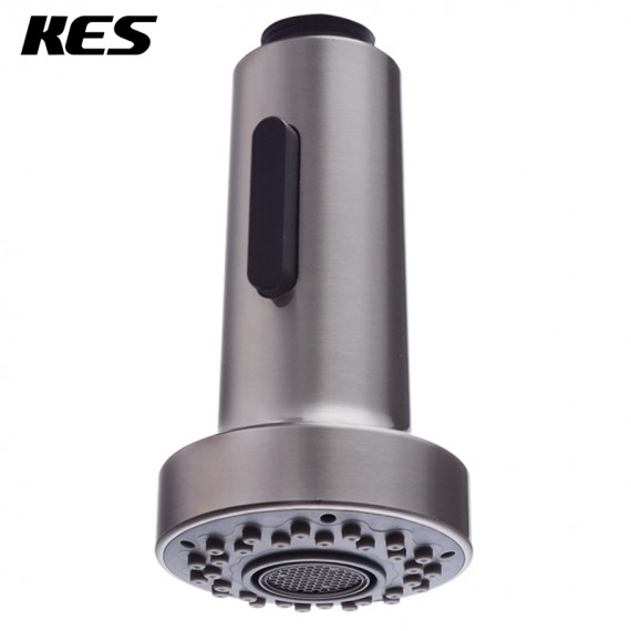 Delicieux KES Bathroom Kitchen Faucet Pull Out Spray Head 1/2 Inch IPS Universal  Replacement Part Brushed ...