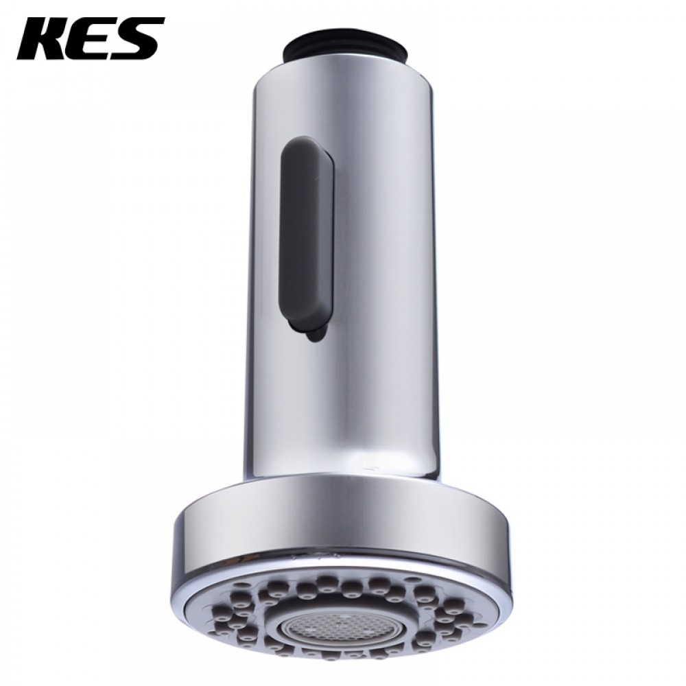 KES PFS1 Bathroom Kitchen Faucet Pull Out Spray Head Universal Replacement  Part, Polished Chrome