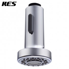 KES PFS1 Bathroom Kitchen Faucet Pull-Out Spray Head Universal Replacement Part, Polished Chrome