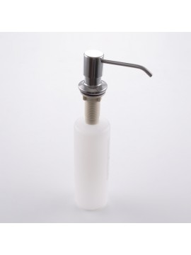 KES PSD1 Lotion/Soap Dispenser with 18-8 Stainless Steel Pump and PP Bottle, Brushed Finish