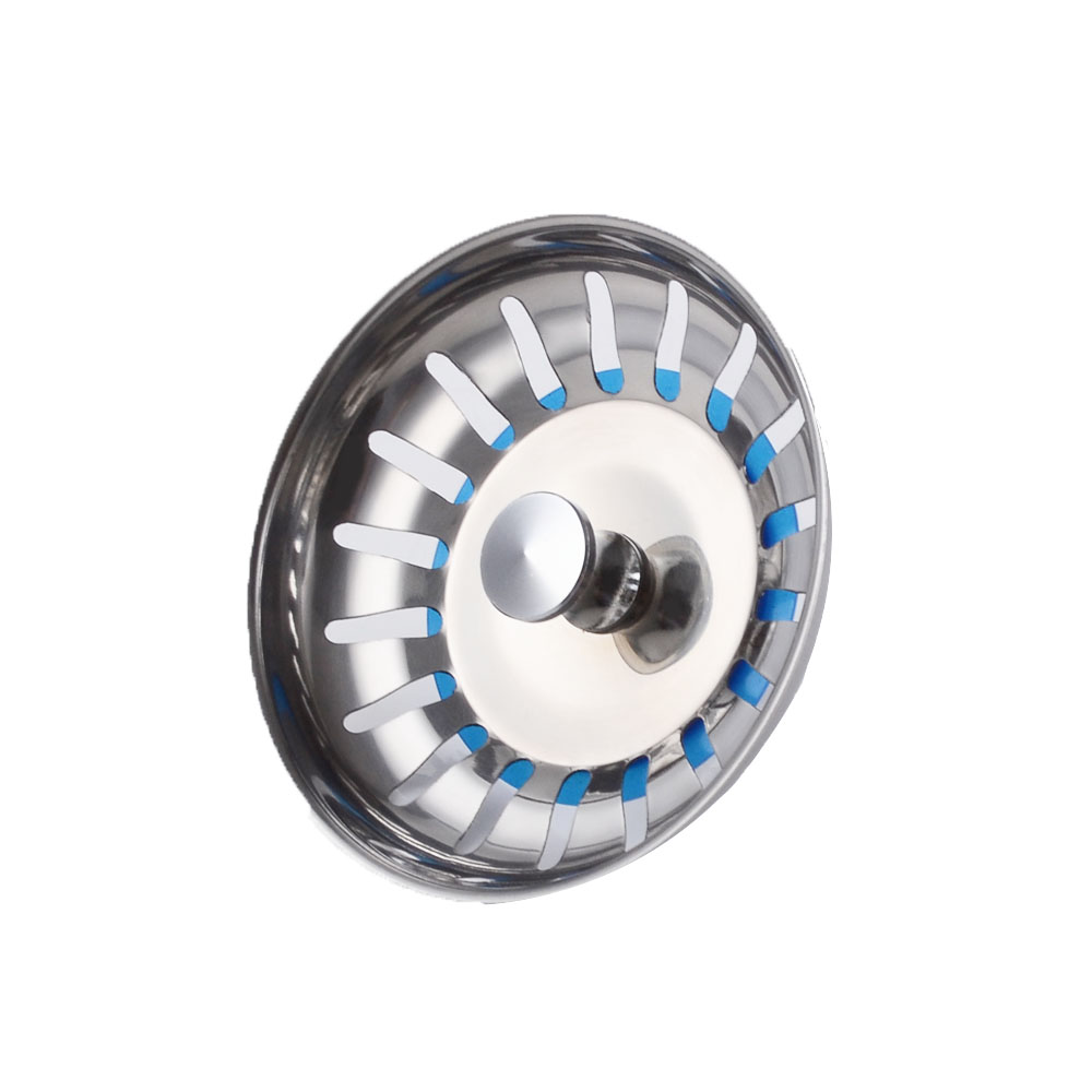 KES SUS304 Stainless Steel Kitchen Sink Strainer Stopper Waste Plug, PSS5