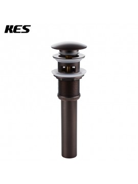 KES S2008A-7 Bathroom Faucet Vessel Vanity Sink Pop Up Drain Stopper with Overflow, Oil Rubbed Bronze
