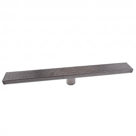 KES 24 Inch Linear Shower Drain SUS 304 Stainless Steel Rustproof With  Cover, V250S60