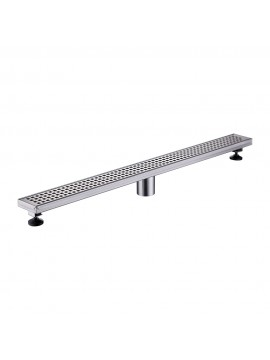 KES 32-Inch Linear Shower Drain SUS 304 Stainless Steel Rustproof with Cover, V256S80-2