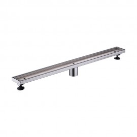KES 32-Inch Linear Shower Drain SUS 304 Stainless Steel Rustproof with Cover, V257S80-2