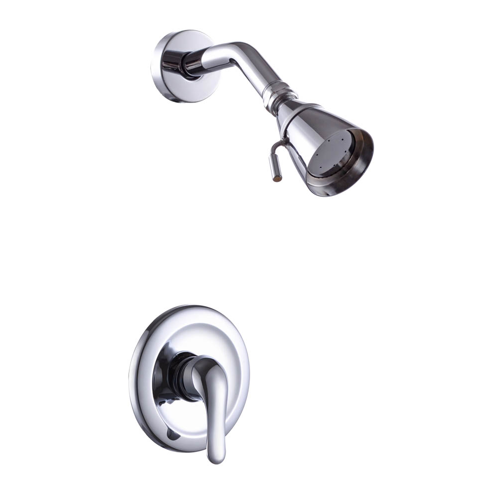 KES Pressue Balance Shower Faucet Set ANTI-SCALD Single Handle Brass ...