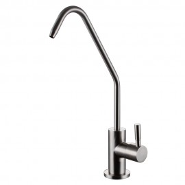 KES Z501B Lead Free Beverage Faucet Drinking Water Filtration System 1/4-Inch Tube, Brushed Stainless Steel