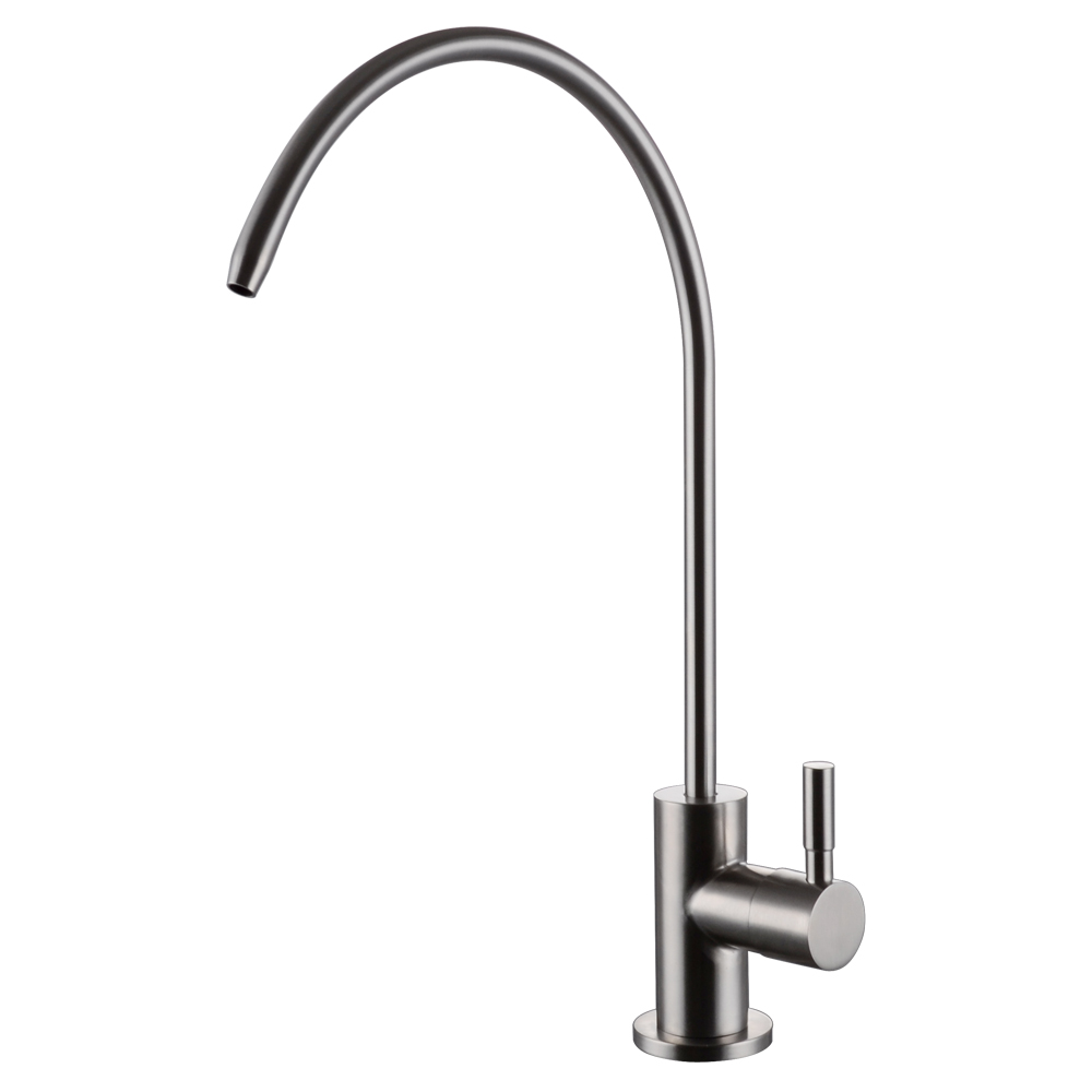 Kes Z501c Lead Free Beverage Faucet Drinking Water Filtration System 1 4 Inch Brushed Stainless Steel