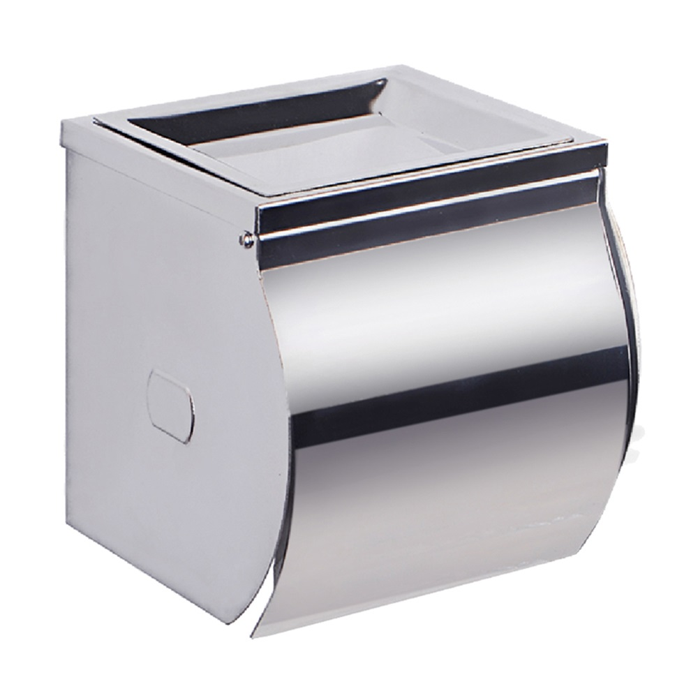 Kes sus 304 stainless steel double roll toilet paper holder storage bathroom kitchen dual paper - Stainless steel toilet paper dispenser ...