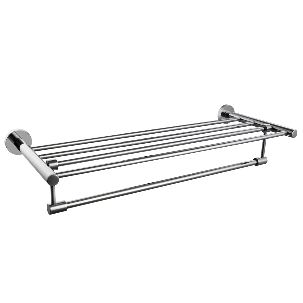 towel rack - kes a bathroom minimalist towel rack shelf with foldable towel barswall mounted polished sus stainless steel