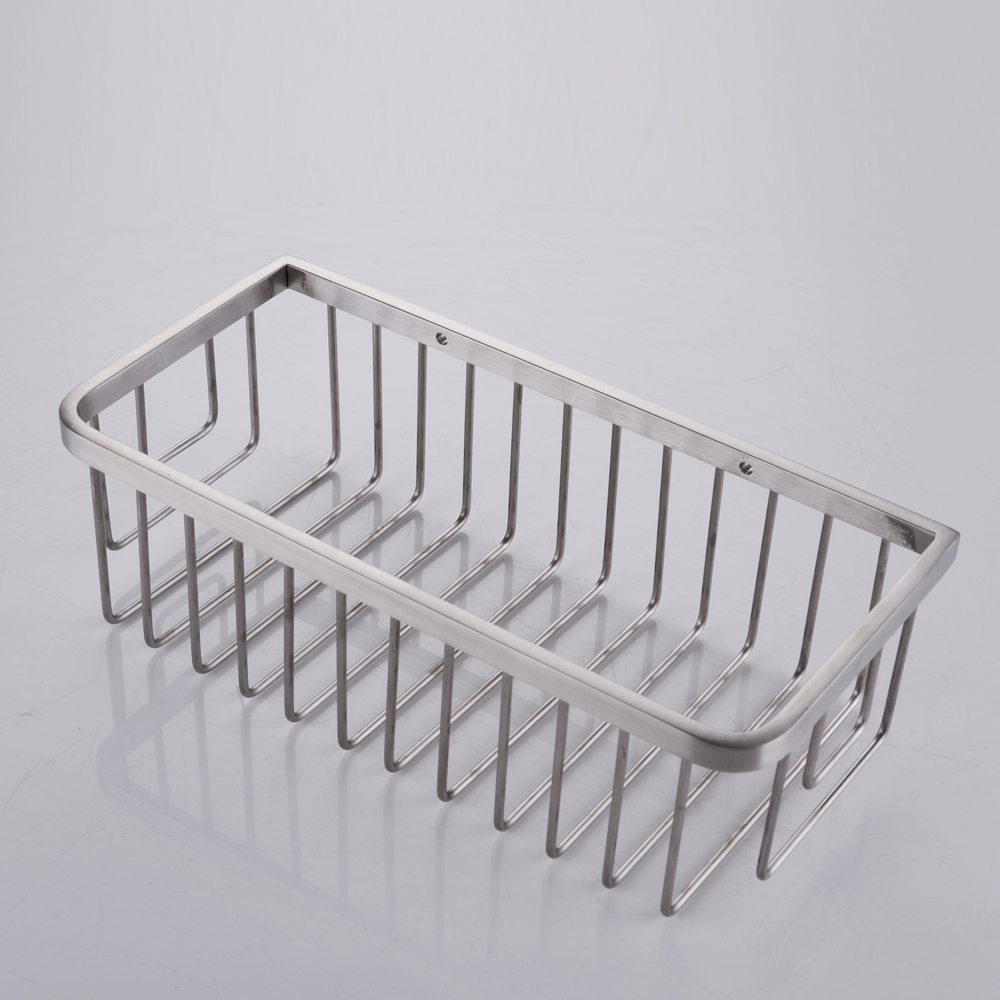 KES Bathroom Shower Caddy Rectangular Extra Deep SUS304 Stainless Steel Wall  Mount Brushed Finish, A2125 2