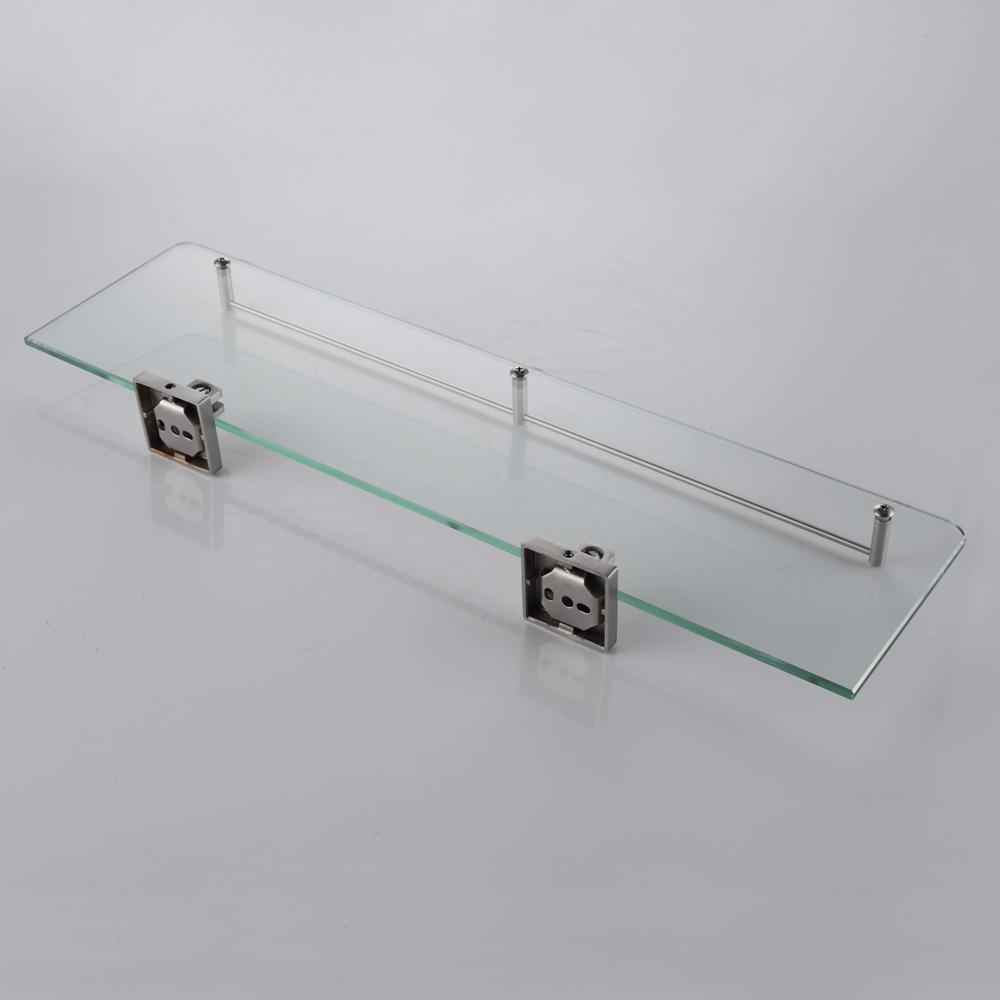 KES Bathroom Glass Shelf 1 Tier Shower Caddy Bath Basket Stainless ...