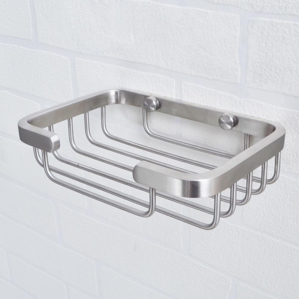 KES Soap Dish For Bathroom, SOLID SUS 304 Stainless Steel Shower Soap Holder  Bath Sponge Holder Wall ...