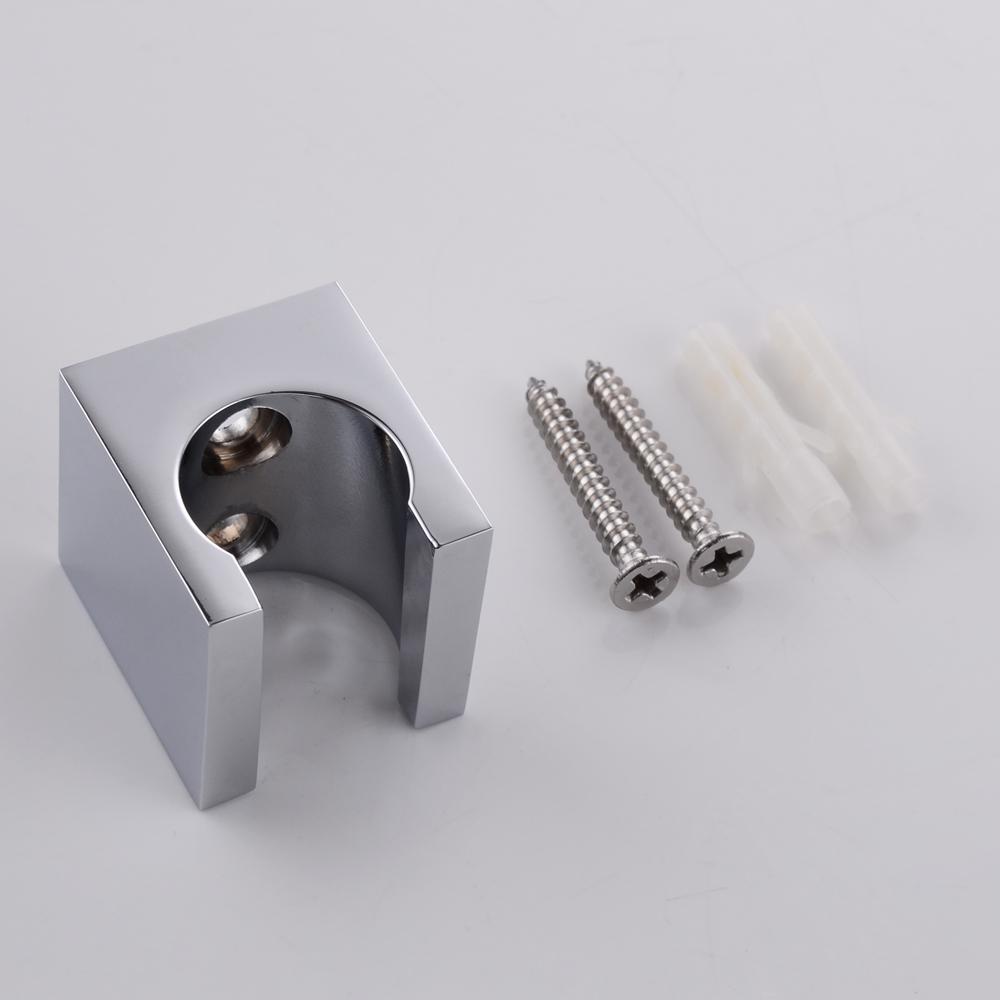 kes all brass handheld shower head holder bracket wall. Black Bedroom Furniture Sets. Home Design Ideas