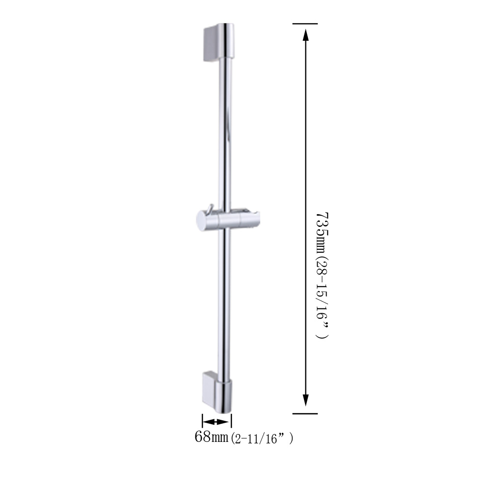 Kes F200 Hand Shower Slide Bar With Height Adjustable