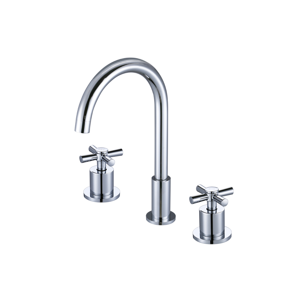 kes brass single handle waterfall sink faucet sus304 stainless