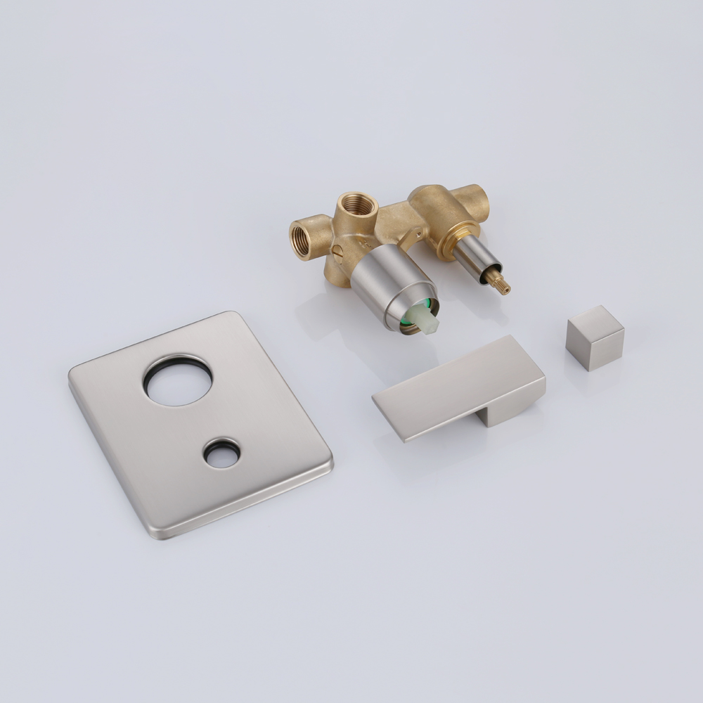kes shower valve and trim kit concealed brass faucet body with 2way diverter for 2function