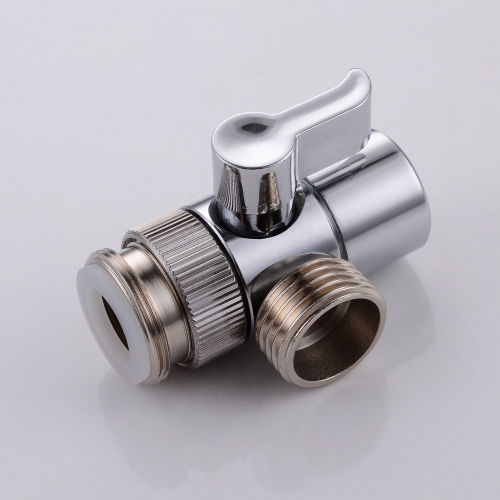 Kes Brass Sink Valve Diverter Faucet Splitter For Kitchen
