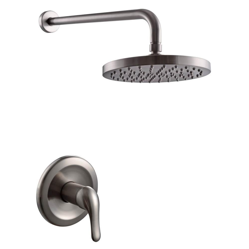 KES Pressue Balance Shower Faucet Set ANTI-SCALD Single Handle Brass ...