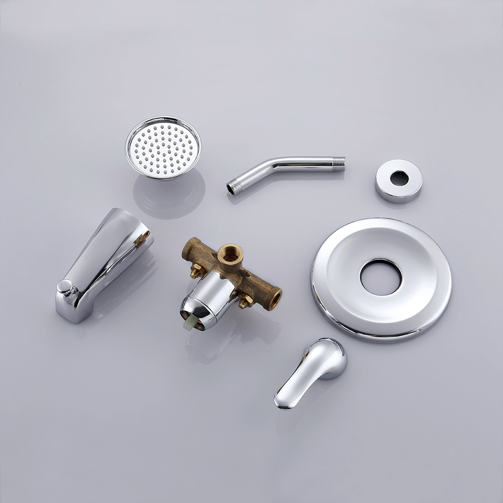 complete shower faucet kits. KES Pressure Balance Shower Valve Combo Complete Kit Bath and Faucet  Set Brass Antiscald with